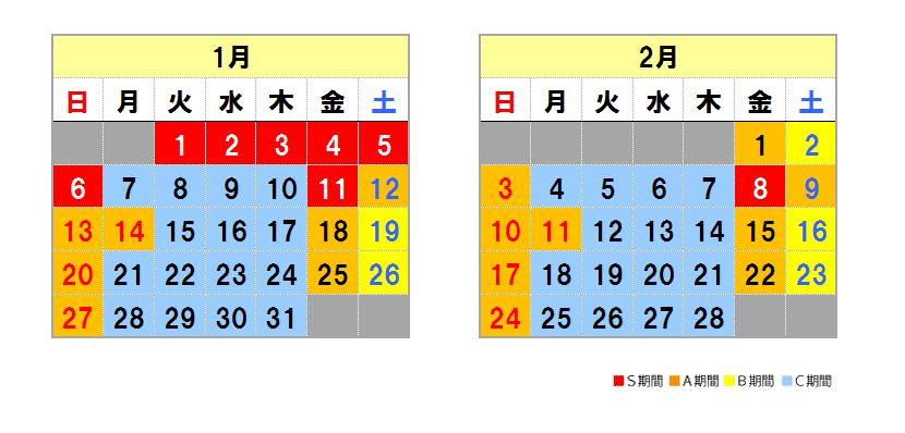 Fukui system calendar